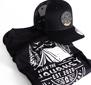 T-shirt + cap